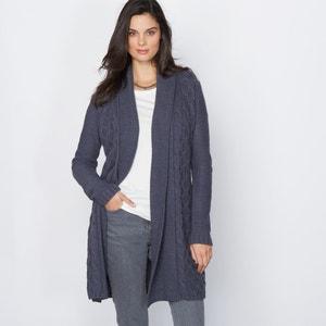 Cardigan, 15% Wool ANNE WEYBURN