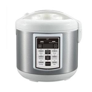 Multi cuiseur automatique blanc et inox CONTINENTAL EDISON