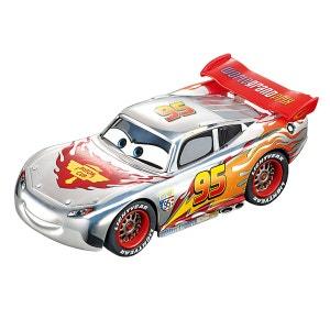 Voiture pour circuit Carrera Go : Disney Pixar Cars : Silver Lightning McQueen CARRERA