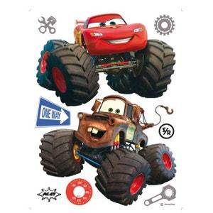 Stickers géant Cars Super Roues Flash et Martin Disney WALLTASTIC