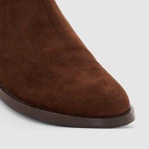 Boots in pelle scamosciata R essentiel