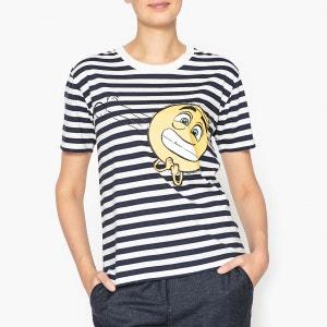 T shirt à motif Emoji Movie TIMOJI PAUL AND JOE SISTER