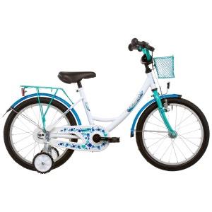 Girly - Vélo enfant 18 pouces - bleu VERMONT