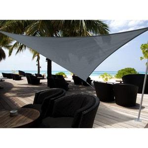 Voile d'ombrage triangulaire 5 x 5 x 5 m - Austral - Ardoise JARDIDECO
