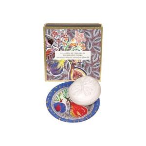 Encens Fève tonka - Savon 150 g et porte-savon FRAGONARD