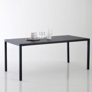 Table repas métal noir mat 6 couverts, Hiba La Redoute Interieurs