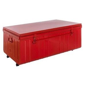 table basse malle en mtal pierre henry - Table Basse Rouge Et Noir