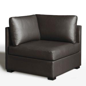 Élément d'angle,confort excellence, cuir, Robin La Redoute Interieurs