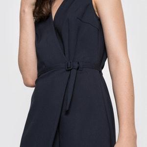 Gekruiste jurk, zonder mouwen - LAURA CLEMENT atelier R