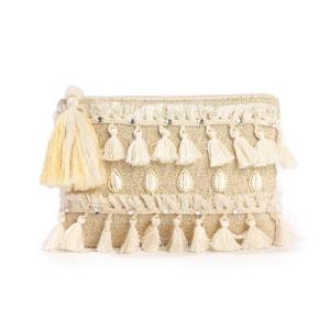 Tassel Trim Clutch Bag La Redoute Collections