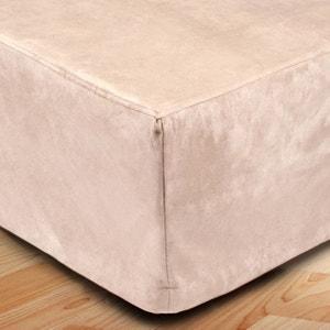 couvre lit beige et blanc la redoute. Black Bedroom Furniture Sets. Home Design Ideas