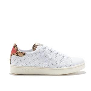 Sneakers J. CONNORS - WHITE & LEOPARD SERAFINI