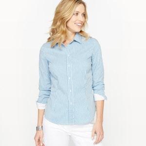 Blusa de tejido tintado a rayas ANNE WEYBURN
