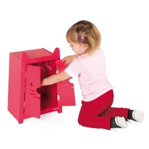 Armoire pour vêtements de poupées 36 cm Babycat JANOD