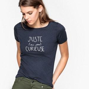 Tee-shirt à message imprimé La Redoute Collections