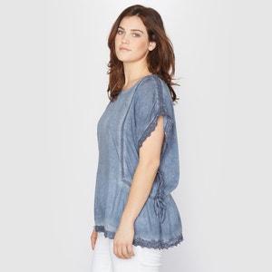 Short-Sleeved Boxy Blouse TAILLISSIME