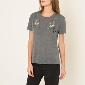 Camiseta con bordado y perlas THE KOOPLES