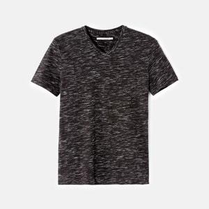 T-shirt slim à col V avec poche VEBASIC CELIO
