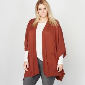 Sweter w kształcie poncho CASTALUNA