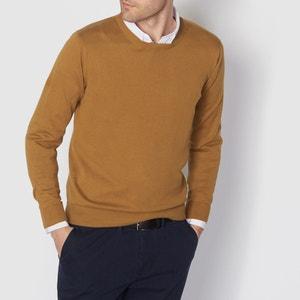 Jersey cuello redondo 100% algodón R essentiel