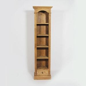 Etagère à 4 étages et un tiroir en pin massif     N108 MADE IN MEUBLES