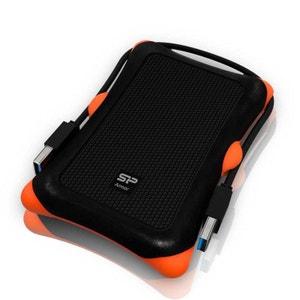 Disque dur externe Silicon Power Armor A30 1 To Noir (USB 3.0) SILICON POWER