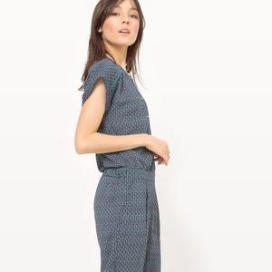 Printed Cropped Jumpsuit MADEMOISELLE R