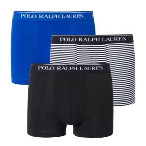 Boxers 2 unis, 1 rayé POLO RALPH LAUREN (lot de 3) POLO RALPH LAUREN