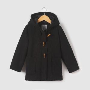 Hooded Duffle Coat, 3-12 Years R essentiel
