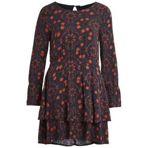 Korte jurk met lange mouwen VILA