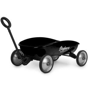 Chariot en métal à tirer : Mon Grand chariot noir BAGHERA