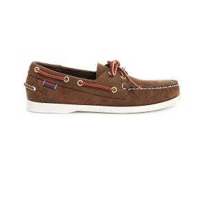 Chaussures bateaux homme SEBAGO Docksides Velours  Homme Marron SEBAGO