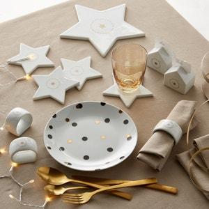 Dessous de plat forme étoile, porcelaine, Kubler La Redoute Interieurs
