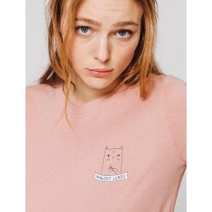 T-shirt imprimé 'Maudit lundi' BIZZBEE