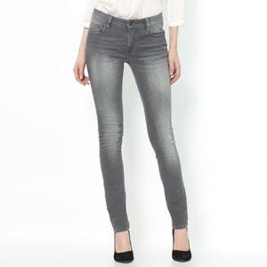 Jeans slim stretch, cintura normal, comprimento 34 R essentiel