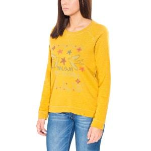 LlaoM. - Sweat-shirt Femme - jaune MALOJA