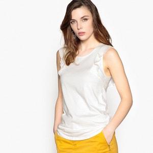 Ruffled Sleeved T-Shirt ANNE WEYBURN
