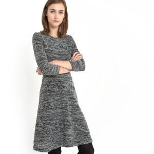 Marl Knit Fit and Flare Dress LES PETITS PRIX
