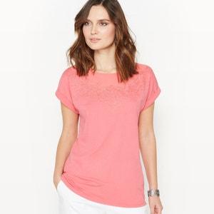 T-shirt, coton & modal ANNE WEYBURN