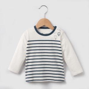 T-shirt rayé manches longues 1 mois-3 ans R essentiel