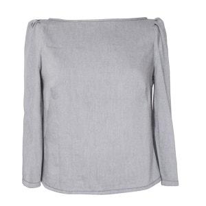 Top coton bio gris bleu JOSEPHINE BONO