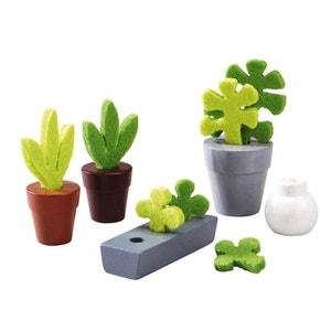 Accessoire maison de poupées : Little Friends : Fleurs et plantes HABA