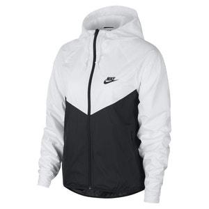 Cortaviento bicolor Windrunner jacket con capucha