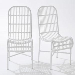 Chaise de jardin MOBASSA (lot de 2) La Redoute Interieurs