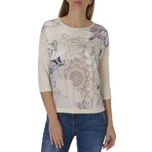 Tee-shirt avec imprimé frontal placé BETTY BARCLAY