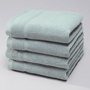 Pack of 4 Cotton Terry Guest Towels, 600g/m² La Redoute Interieurs