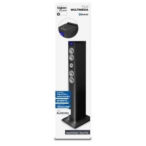 Tour multimédia  noire lumière type  équalizer  Bluetooth  USB carte SD MMC MP3 BIG BEN