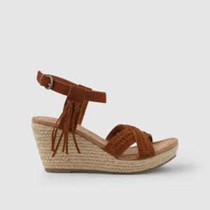 Sandalen met sleehak NAOMI MINNETONKA