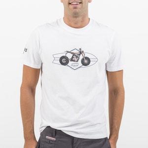 T-shirt z okrągłym dekoltem i krótkim rękawem OXBOW