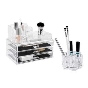 Ensemble rangement maquillage